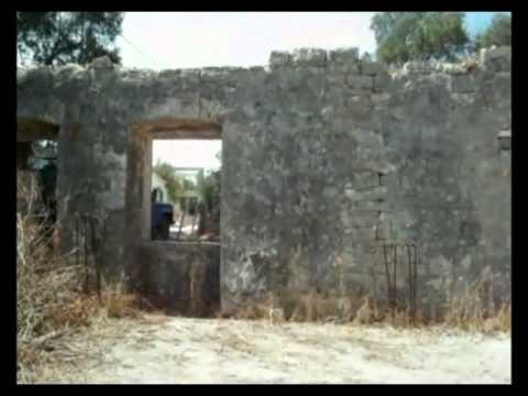 Kangatika Paxos old school building GREECE ancient ruin