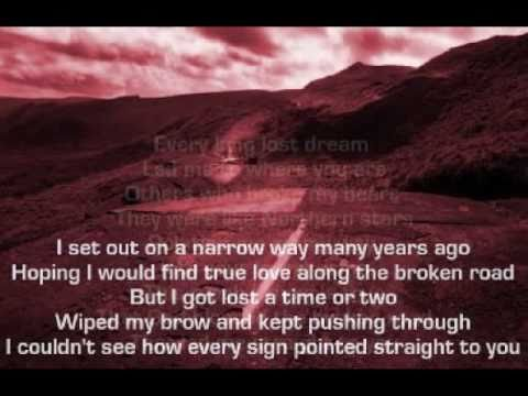 Marcus Hummon  Bless The Broken Road  + lyrics 1995