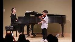2017 Caleb Seo violin recital
