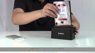 ORICO 6619US3 USB3.0 HDD Dockingstation Festplatten Dock for 2.5/3.5 zoll SATA