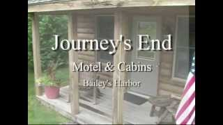 Door County Lodging - Journeys End Motel & Cabins - in Door County Wisconsin