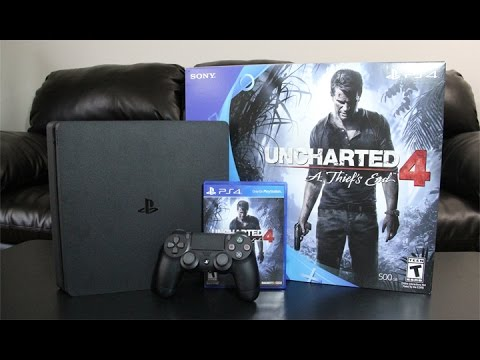PS4 Slim Unboxing and First Boot Up