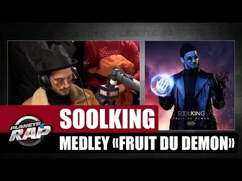 """Soolking - Medley de l'album """"Fruit du Démon"""" #PlanèteRap"""