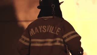 Maysville Kentucky Warehouse Fire 10-2-2016 Standard Supply Co.