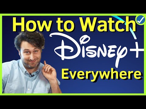 How To Watch Disney Plus NOW From Anywhere