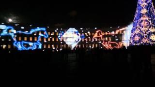 Дворцовая площадь, Петербург, 24-е декабря 2015 г.