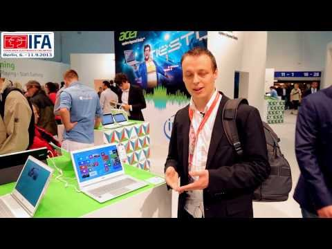 IFA 2013 | Acer Liquid S2, Iconia A3 und S7 Ultrabook [Deutsch]