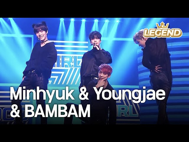 Minhyuk(BTOB,MONSTA X) & Youngjae & BAMBAM - Bad Girl Good Girl 2016 KBS Song Festival/2017.01.01]