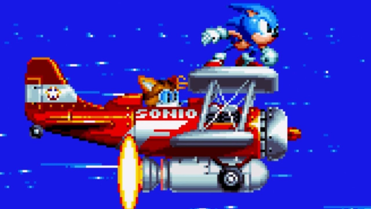 Sonic Mania - Part 1 - Green Hill Zone (Sonic & Tails) - Chaos Emerald 1