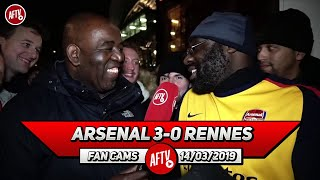 Arsenal 3-0 Rennes | Aubameyang Was Fantastic Today!! (Kenny Ken)