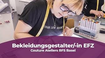 Eine Lehre als Bekleidungsgestalter/-in bei Couture Ateliers BFS Basel