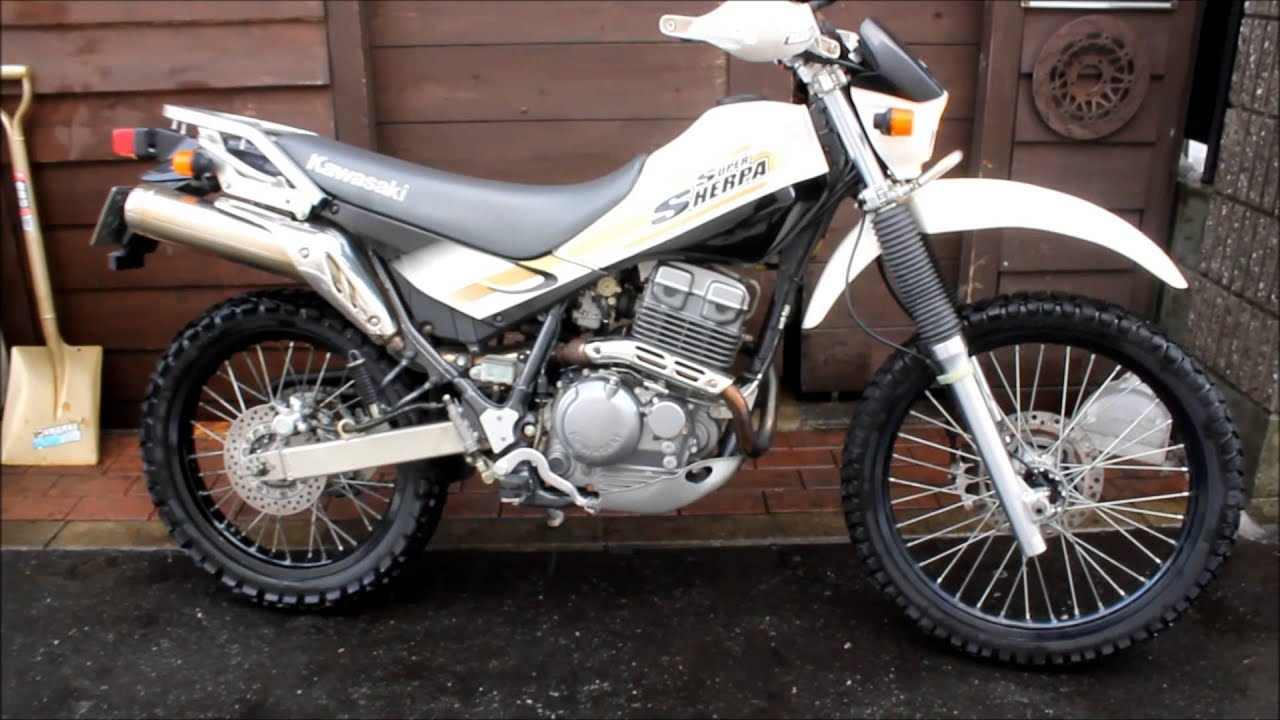 2000 KAWASAKI KL250-G KL 250 SUPER SHERPA MOTOR AND PARTS FOR SALE .