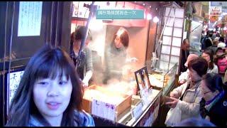 [ 京都散步行 ] - 四條通大丸百貨步行往錦市場及新京極來回走一趙 街歩き
