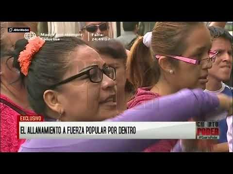 Luz Salgado amenaza a fiscal en allanamiento a local de Fuerza Popular [Cuarto Poder]