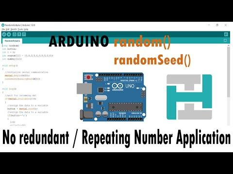 Arduino Random Number Generator Function Simplified