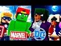 Minecraft Adventure - MARVEL vs DC!!!