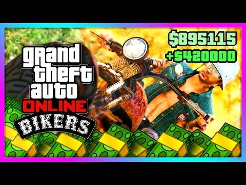GTA 5 Online DLC - NEW BEST MONEY MAKING METHOD! Biker DLC Business Tutorial, Tips & Tricks! (GTA V)