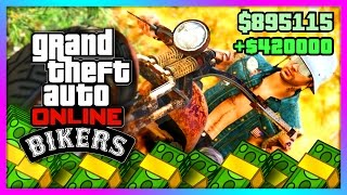 GTA 5 Online DLC - NEW BEST MONEY MAKING METHOD! Biker DLC Business Tutorial, Tips & Tricks! (GTA V)