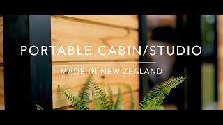NZ Made Portable Studio/Cabin #loburn #loburnsawmill #portablecabin