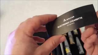 Unboxing Komplettset Salcar® Elektronische Zigarette E-Zigarette