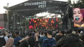 Nasida Ria - Kota Santri  @ Synchronize Fest 2019 | Kemayoran - JAKARTA (HQ Audio)