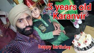 happy birthday Karanvir Singh Mahal 5 years old