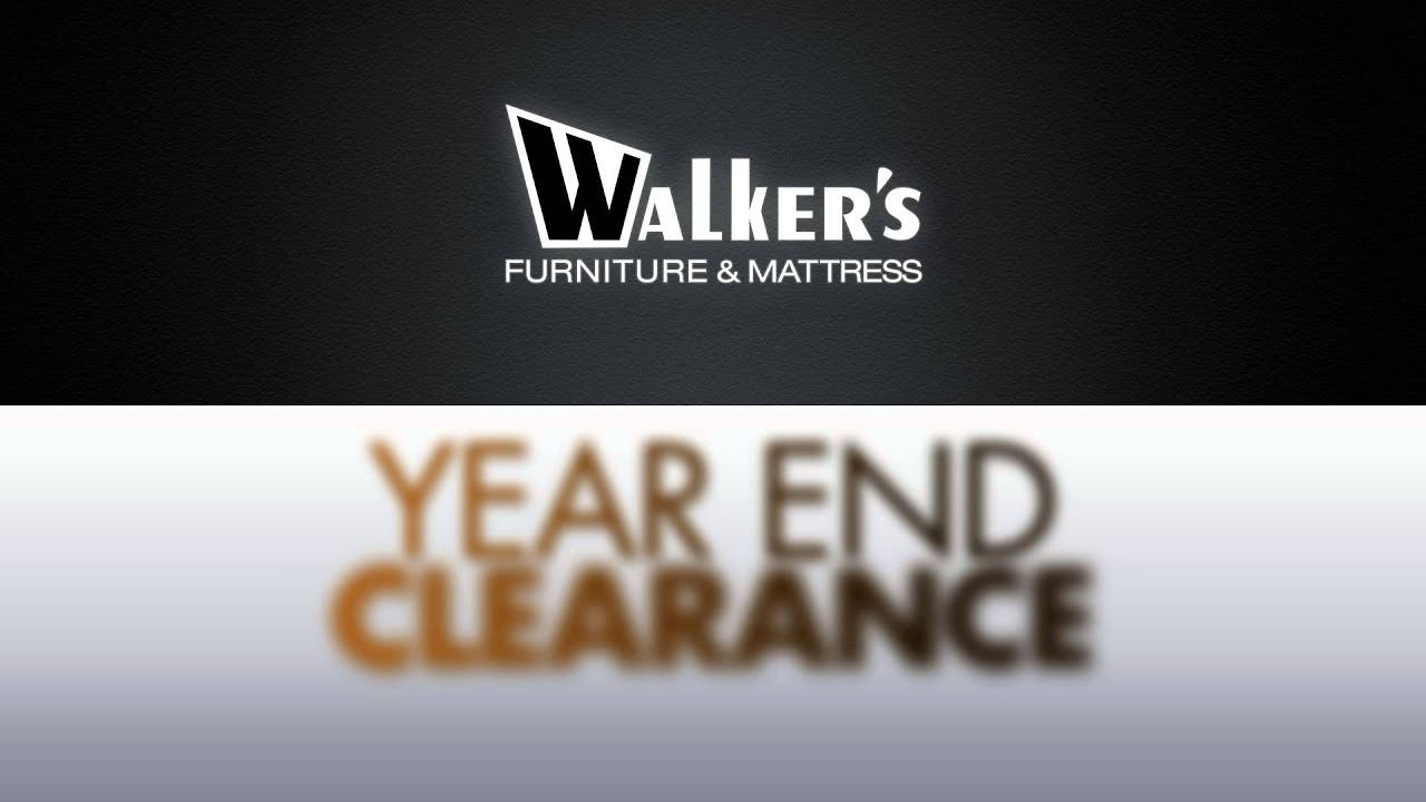 Walkers Furniture : Year End Clearance Event 2012