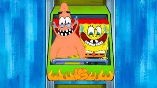 Губка Боб Квадратные Штаны #3 прикольная игра Nickelodeon про мультик Спанч Боб SpongeBob крутилкины
