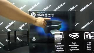 IMPRESORA HP 125a ESPECIFICACIONES