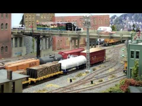 Moose River Railroad video
