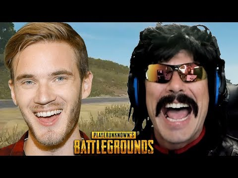 Thumbnail: DrDisRespect Reacts to PewDiePie Drama and Funny Moments on PUBG!