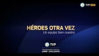 Mundial 2014: Homenaje de la TV Pública a la Selección Argentina