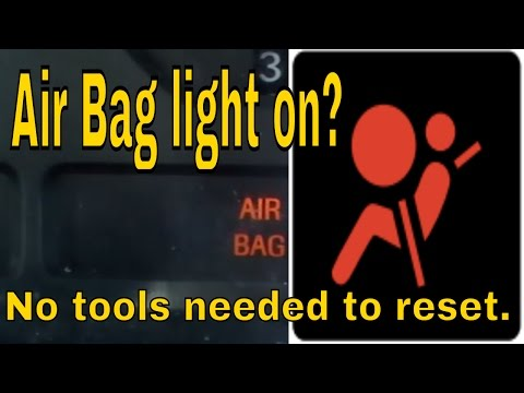 RESET FORD MUSTANG AIRBAG LIGHT - YouTube