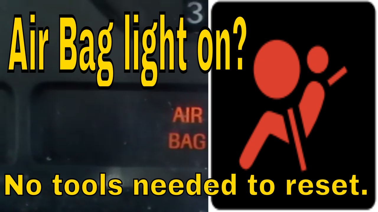 hight resolution of how to reset ford mustang airbag light