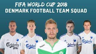 Denmark Football Team SQUAD WORLD CUP 2018