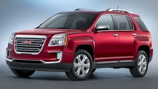2016 GMC Terrain Start Up and Review 2.4 L 4-Cylinder