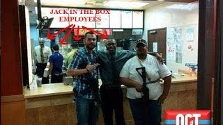 Open Carry Texans Mistaken As Robbers At Jack in The Box -MEDIA/POLICE LIED!