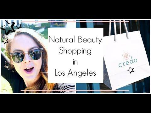 Los Angeles Natural Organic Beauty Shops Vlog