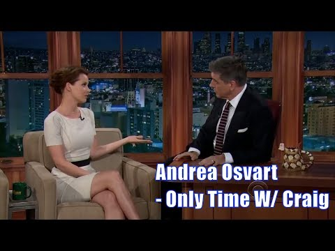 Andrea Osvart  Is An Alien With Extraordinary Abilities  Her Only Time With Craig Ferguson