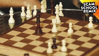 Con Your Way Through a Bunch of Simultaneous Chess Games