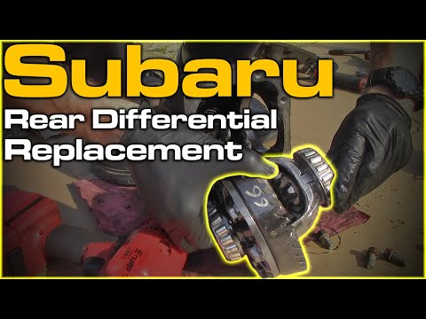 Subaru Rear Differential Replacement