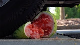 5,000 lb Truck Crushes Crunchy and Squishy Things | So Satisfying