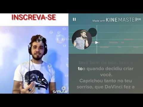 Cante com Gustavo Mioto - Coladinha em Mim - Karaokê smule