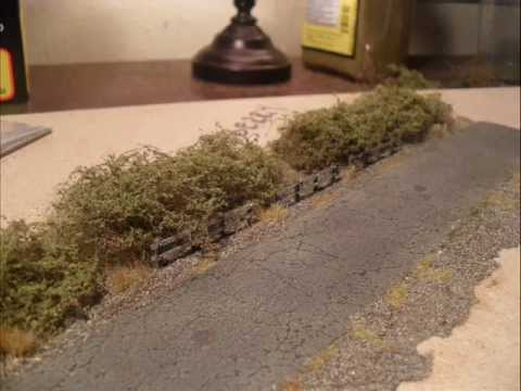 Modelling Railroad Train Scenery -Awesome Planning For Designing quick easy blackberry bushes