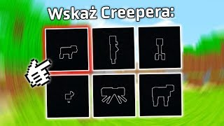 ROZPOZNAJ MOBY PO ICH KONTURACH! | Minecraft Quiz 1