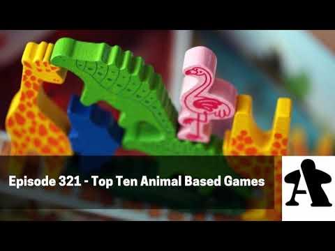 BGA Episode 321 - Top Ten Animal Based Games