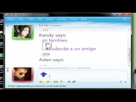KBXA Tutorials - Como Chatear Con MSN Messenger=