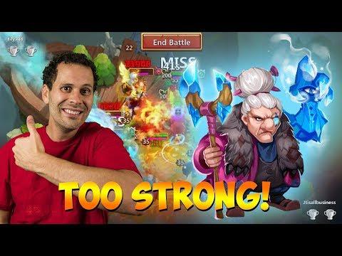 Ma Hatma Is SUPER STRONG! Castle Clash