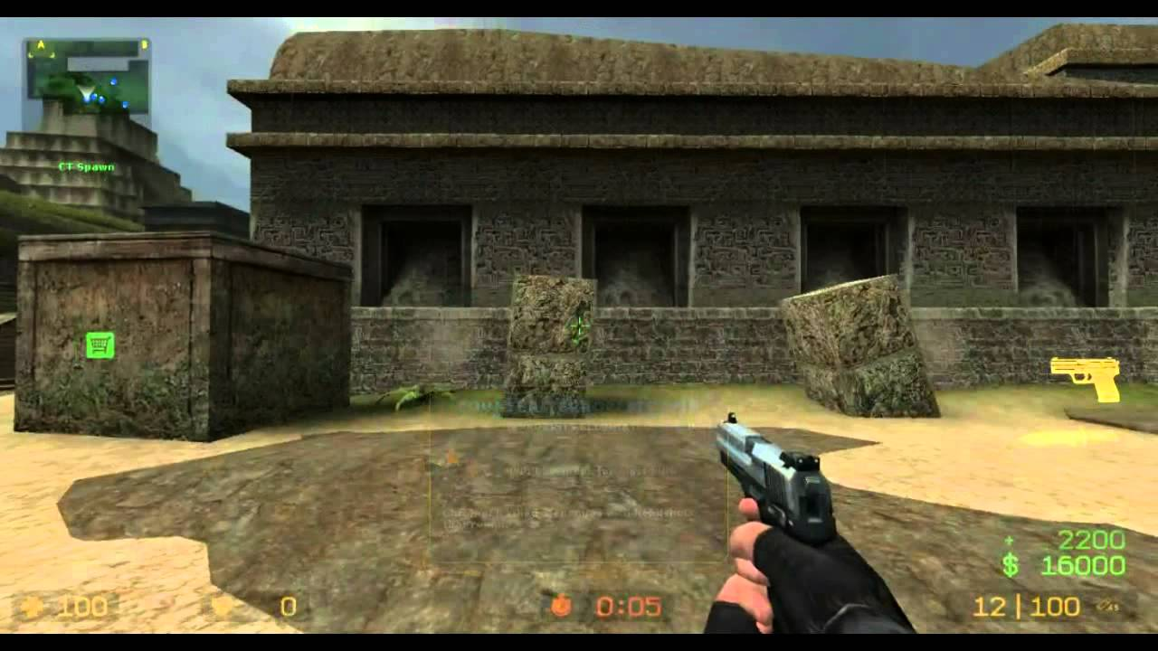 Amd A6 Gaming Counter Strike Source A6 6310 Radeon R4 Youtube