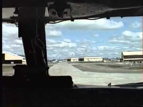 Fairchild landing, 1991